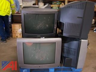 Large Lot Good Condition Tvs