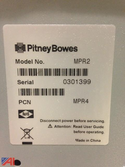 pitney bowes mail machine