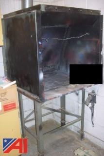 Bench Size Spray Booth