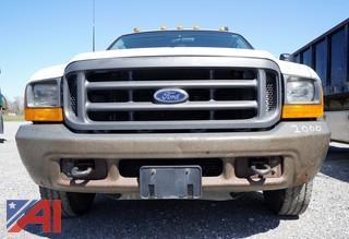 2000 Ford F-350 XL Super Duty Dump/Fuel Transfer Truck