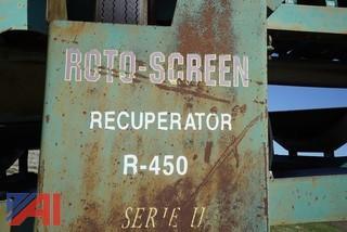 1999 Roto Screen R450 Series II Trommel Screening Plant