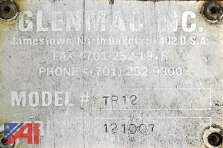 Glenmac/Harley 12' Power Rake #TR12