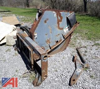 Woods Alitec RW18 Rock Wheels Skid Steer Attachment
