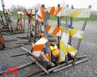 Lot Construction Barricades, Signs and Related