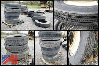 48) Pc Group Mixed Heavy Truck Tires and Rims