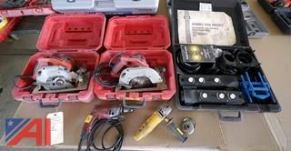 5 Pc Tools Saws Drills etc.