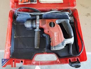Hilti TE-6-S Rotary Hammer Drill & Case