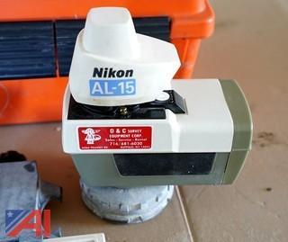 Nikon AL-15 Laser Level with Sensor Detector