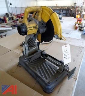 """DeWalt DW871 14"""" Abrasive Chop Saw"""