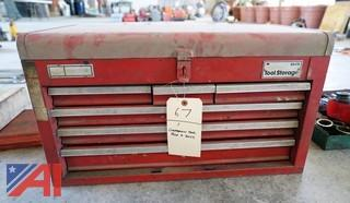 Craftsman Table Top Tool Chest & Tools