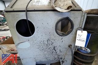 Skat Dry Blast System and Cabinet