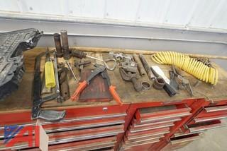 Waterloo 3 Section Tooling Chest and Tools