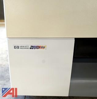 2) Wide Format Plotters, HP & Xerox