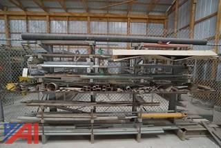 Lot Assorted Steel Stock