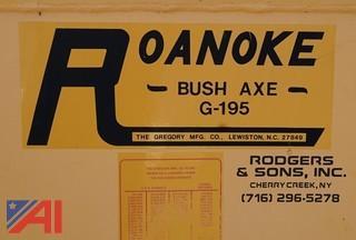 2004 Roanoke G195 Bush Axe Bank Mower Attachment