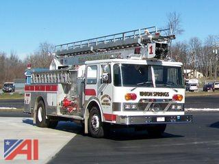 1981 Pierce 55'LTI Water Tower with Ladder Engine Truck