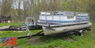 1989 Smoker Craft Pontoon Boat