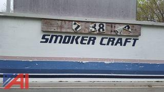 1989 Smoker Craft Pontoon Boat