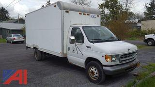2002 Ford E-450 Super Duty Box Truck