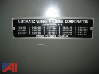 (7) Automatic Voting Machines