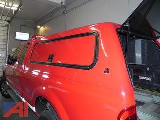 2008 Leer Truck Cap w/Outside Tool Boxes