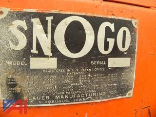 SnoGo MP 3D Series Snowblower