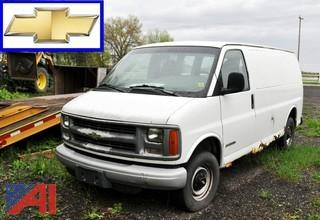 2002 Chevy 2500 Express Cargo Van