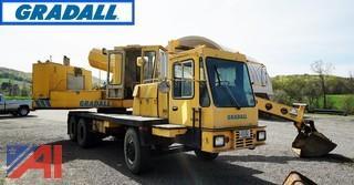 1983 Gradall G660 Wheel Excavator