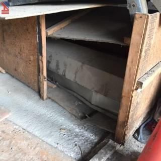 (2)  Steel Roll-up Doors