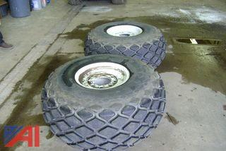 Tractor Tires and Cab Guard