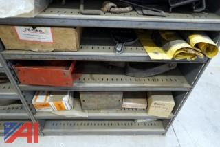 Lg. Lot of Service Parts Racking & Stock