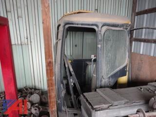 John Deere Excavator 35C Cab