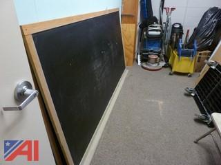 Desks, Chalkboards, Bulletin Boards and Table