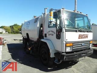 1995 Ford CF7000 Elgin Sweeper Truck