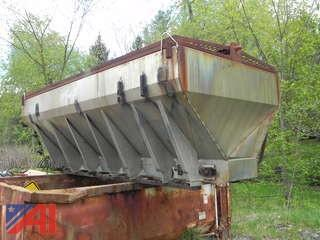 15' Torwell Stainless Steel Spreader with 3 Extra Conveyor Chains