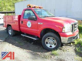 2005 Ford F350SD Utility Truck