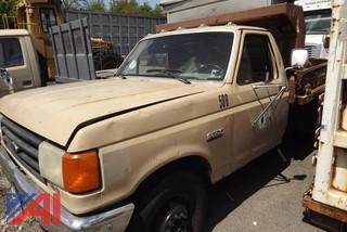 1987 Ford F350 Pickup/Dump