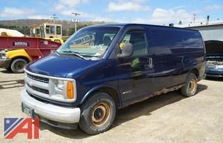 2001 Chevy 1500 Express Cargo Van