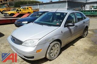 2005 Ford Focus ZX4 4 Door Sedan