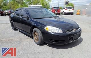 2011 Chevrolet Impala/Limited Police Vehicle 4DSD