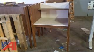 (6) Study Carrel Desks