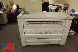 Xerox Plotter (model #8830) with Separate Scanner (model #7356)