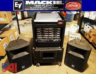 Mackie 16 Channel Wireless PA System