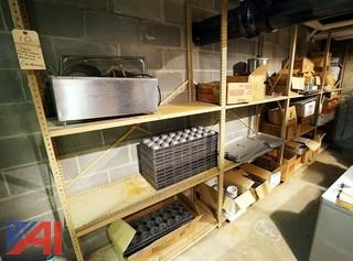 Lot Cafeteria Equipment & Stock