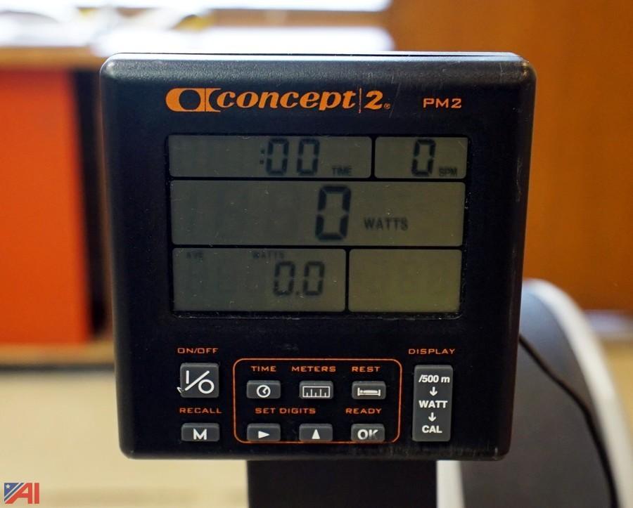 concept ii indoor rowing machine