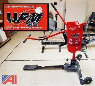 Louisville Slugger UPM 55 Baseball Pitching Machine