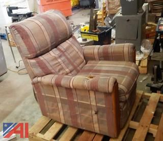 (3) Dining Tables & Recliner