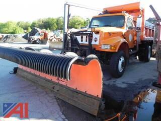 1993 International 4800 Dump w/ Plow, Wing & Side Sander
