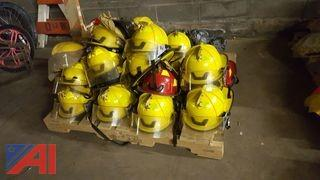 (21) Assorted Fire Fighter Helmets