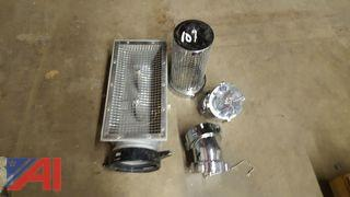 Lot of Fire Hose Elbows and Strainers